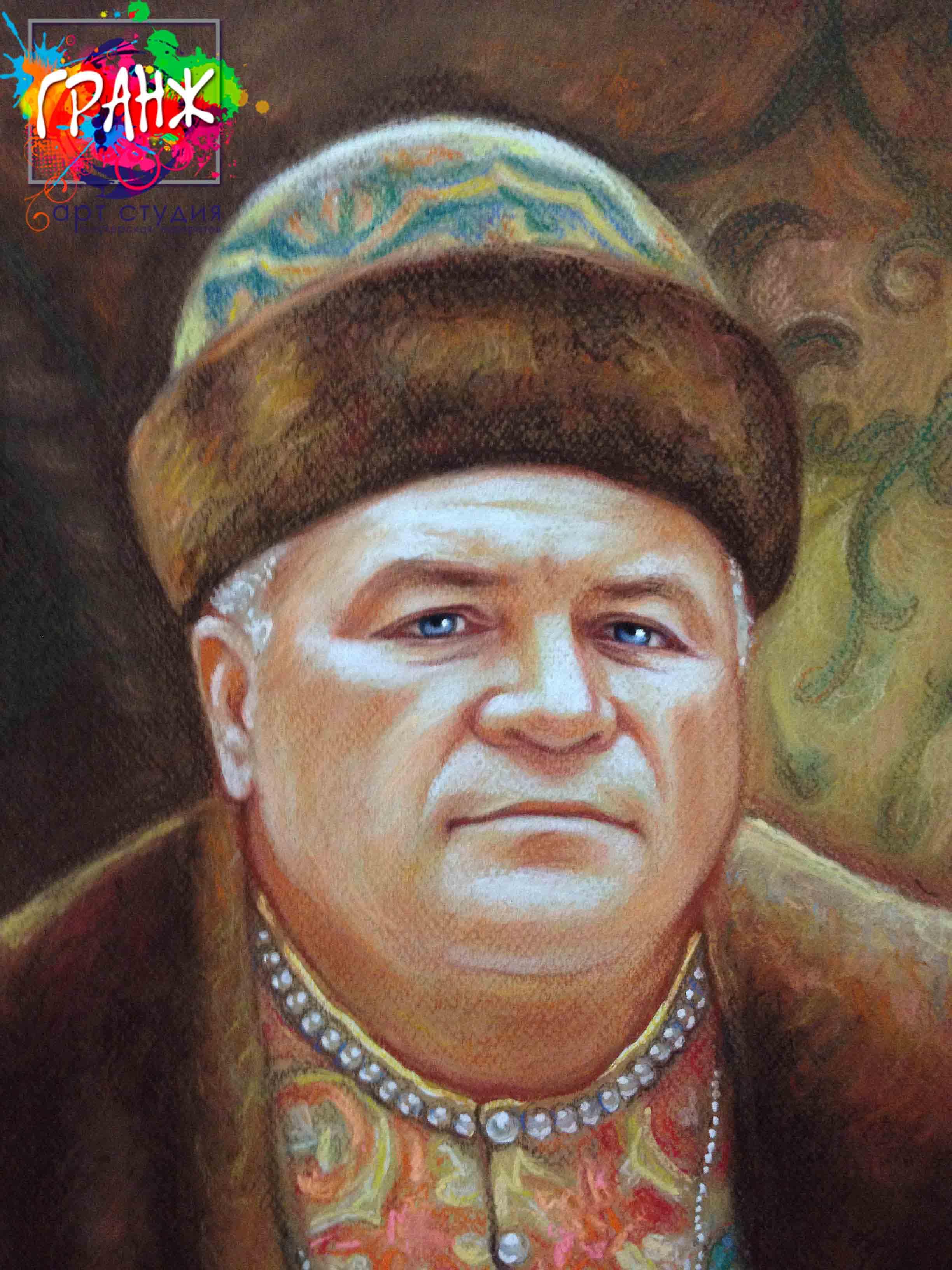 Заказать портрет маслом по фотографии в Оренбурге
