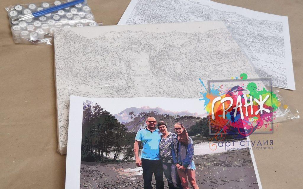 картин по номерам на холсте по фото в Оренбурге