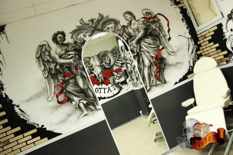 Роспись стен в Оренбурге