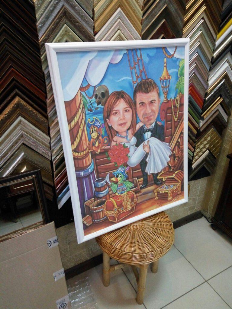 портрет шарж на заказ в оренбурге