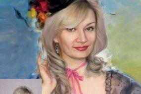 Заказать арт портрет по фото на холсте в Оренбурге…